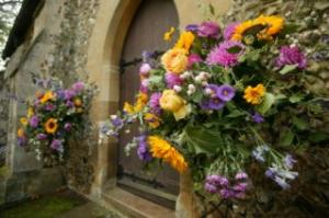 Purple and yellow weddings purple and yellow flowers mightylinksfo