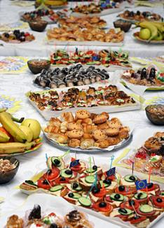 Finger Foods for a Wedding Reception