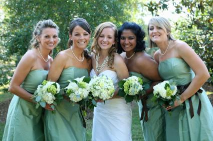 Wedding Ideas Using the Color Green