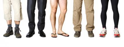 Mens' legs