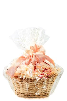 Romantic wedding gift baskets lovetoknow gift basket negle Gallery