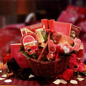 romance for two gift basket