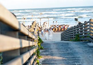 Cinnamon Shore Beach Wedding