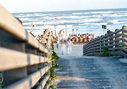 Cinnamon Shore Beach Wedding