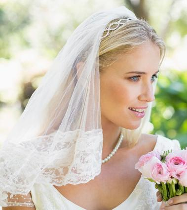 wedding veil styles  lovetoknow