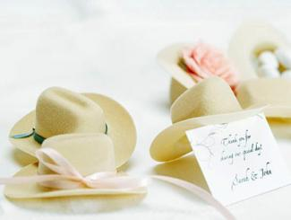 Mini Cowboy Hat Favors