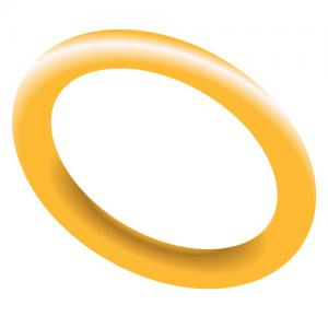 single gold band