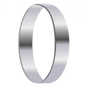 Single platinum ring clipart