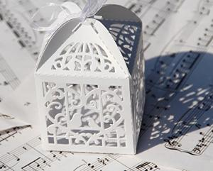 Bird Cage Wedding Favor Box