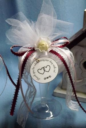 Champagne Glass Favor