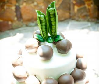 peas cake