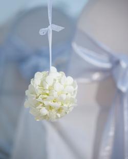 White flower bouguet