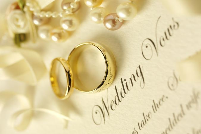 Two Rings on Wedding Vows