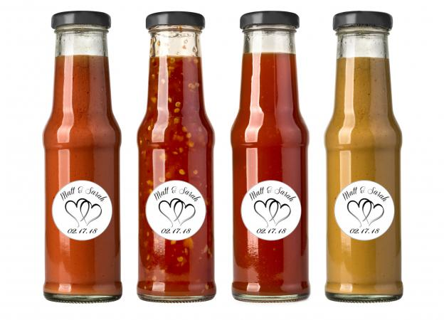 Barbecue Sauce Wedding Favors