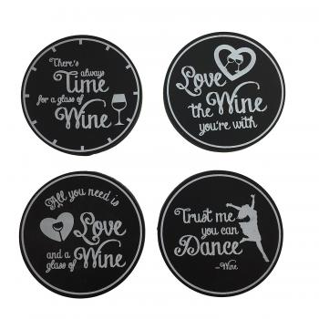 Wine refrigerator magnets