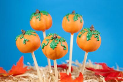 Pumpkin Cake Pop Favors