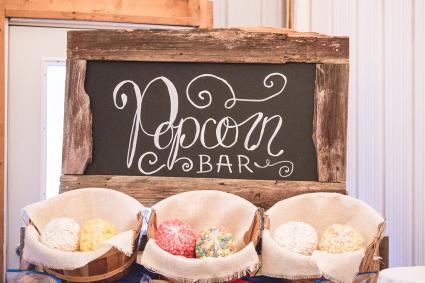 Popcorn ball bar