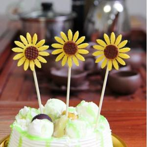 Sunflower Cake Topper Decoration