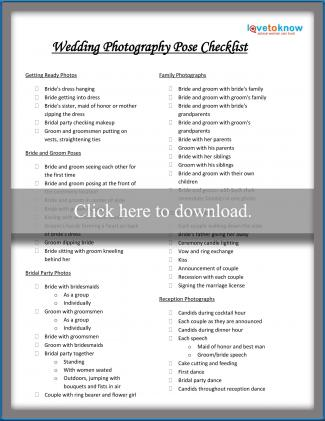 Crush image for wedding photography checklist printable