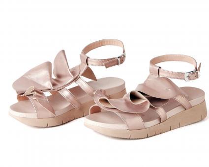 elegant strappy sandals