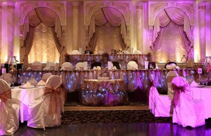 Fairy Tale Theme Wedding Reception