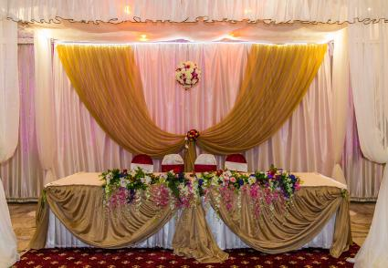 Simple yet stunning wedding table decor