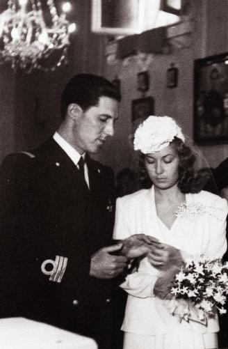 Wedding in 1941