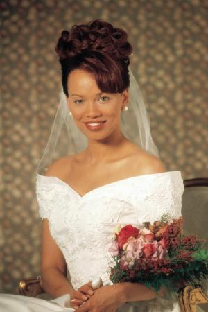 Portrait of bride