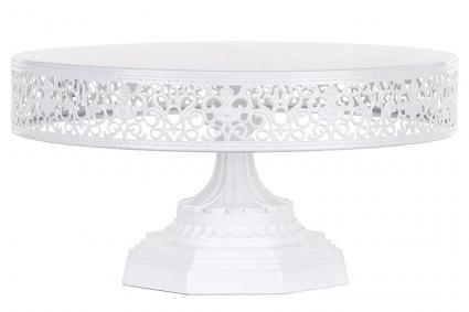 Lacy Porcelain Cake Stand