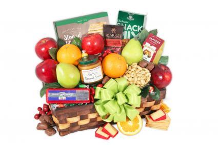 GourmetGiftBaskets.com Premium Fruit Basket