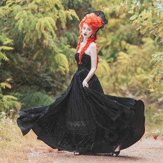 Gothic halloween clothes