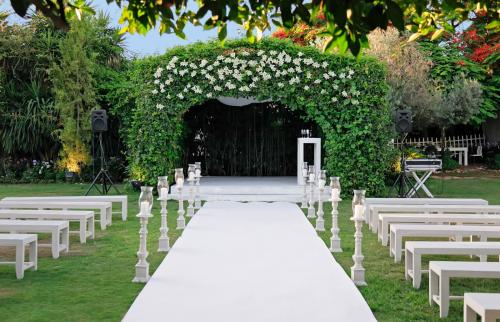Wedding canopy outdoor