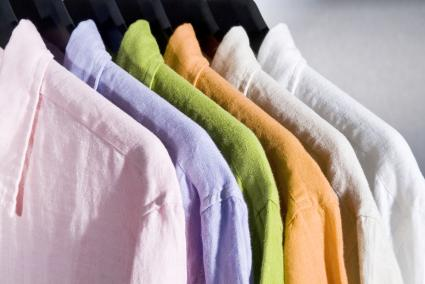 Color linen shirts