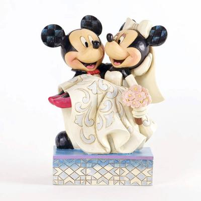 Disney Traditions by Jim Shore Mickey and Minnie Mouse Figurine