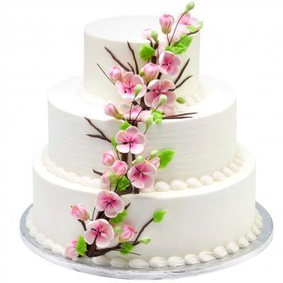 walmart wedding cake brochure