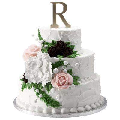 Marvelous Wedding Cakes From Walmart Lovetoknow Personalised Birthday Cards Veneteletsinfo