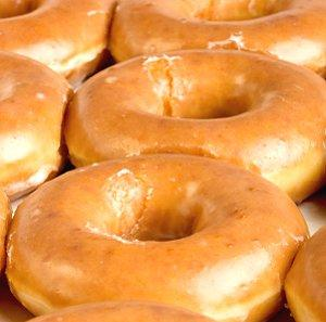 Photo of classic Krispy Kreme donuts