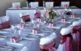 beautiful decorated table