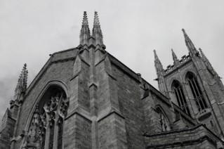 A Gothic church for a Halloween wedding