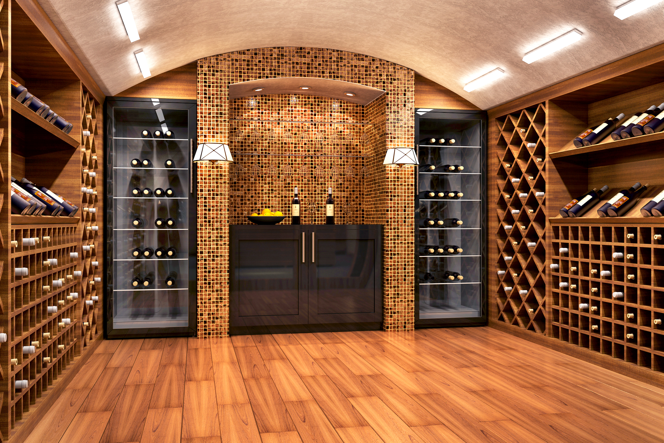 Mini Wine Cellar Ideas choosing the right wine cellar cooling unit | lovetoknow