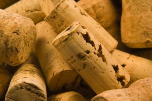 corks from corked wine