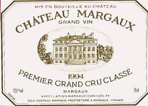 grand vin label