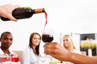 How Much Wine Needed Per Person Planning Chart