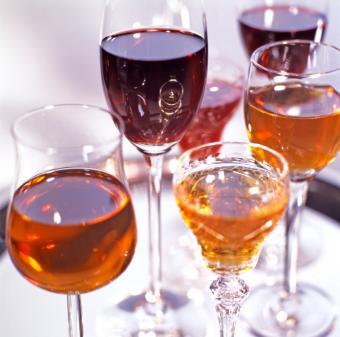 Colors of Marsala wine