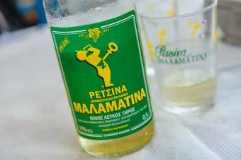 Restina wine from Greece