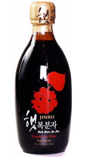 Jinro Bok Bun Ja Joo Korean Raspberry Wine from Ace Spirits