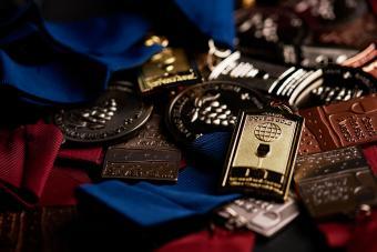 Cooper's Hawk medals