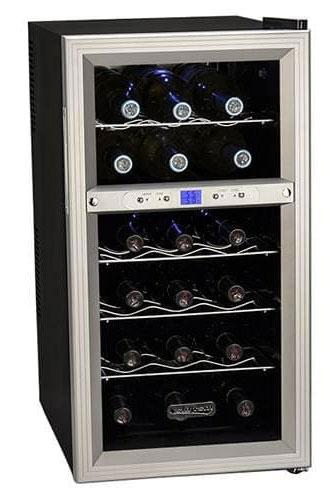 Koldfront 18-Bottle Dual Zone Fridge