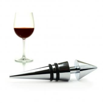 wine stopper and red wine