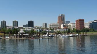 Portland, Oregon and the Willamette River